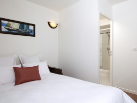 studio hotel 2 personnes double lit brest place de strasbourg - Double T1 SUP - Bedroom