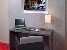 studio hotel 2 personnes double bureau grenoble inovallee - Doppelt T1 SUP - Schlafzimmer