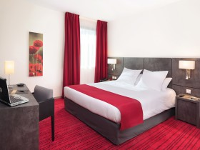 studio hotel 2 personnes double grenoble inovallee - Doppelt T1 SUP - Schlafzimmer