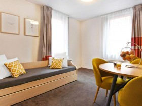 studio hotel 2 personnes double cuisine lille euralille - Double T1 SUP - Chambre day use