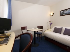 studio hotel 2 personnes double cuisine montpellier saint roch - Double T1 SUP - Chambre day use