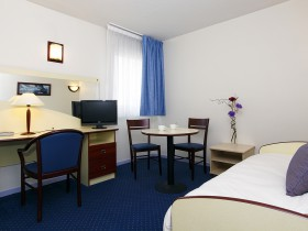 studio hotel 2 personnes double sejour bureau montpellier saint - Double T1 SUP - Chambre day use