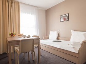 studio hotel 2 personnes double sejour niort - Double T1 SUP - Chambre day use