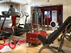 Salle de fitness - Suite Romantic Escape - Dormitorio