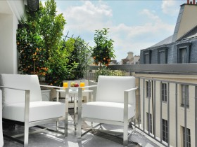 Deluxe Avec terrasse - Chambre day use