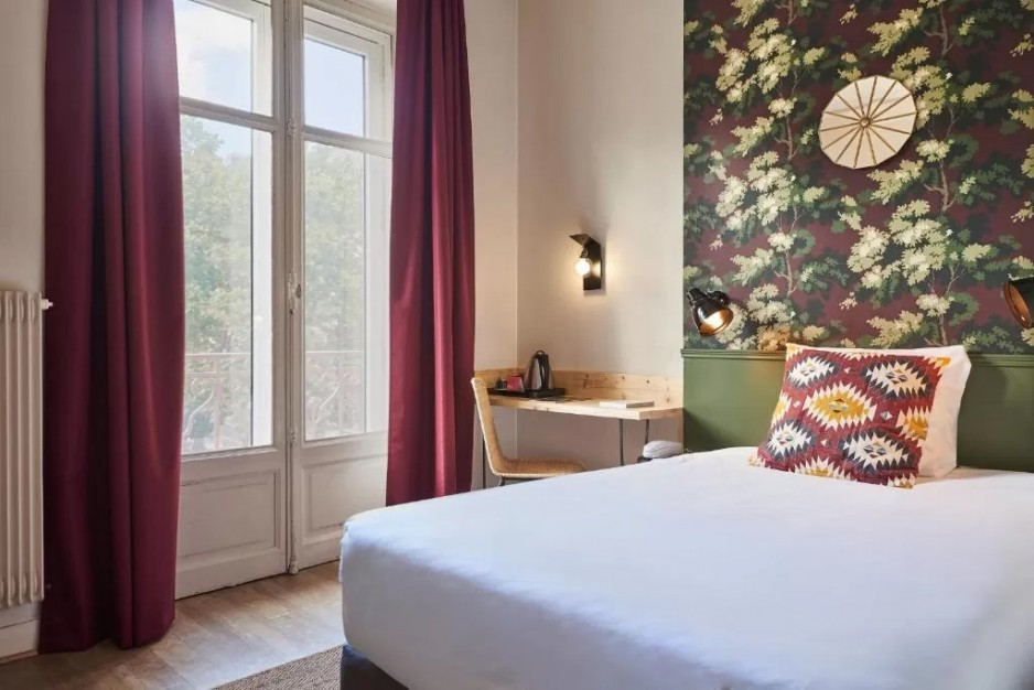 chambre grand lit double - Nancy