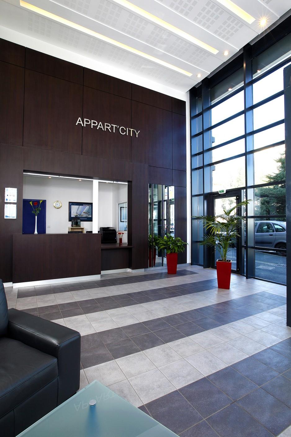 H tel journ e brest appart 39 city brest place de for Appart hotel 2 etoiles paris