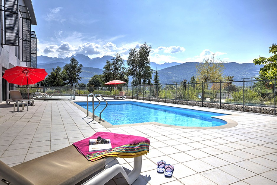 appartement hotel exterieur grenoble inovallee - Grenoble