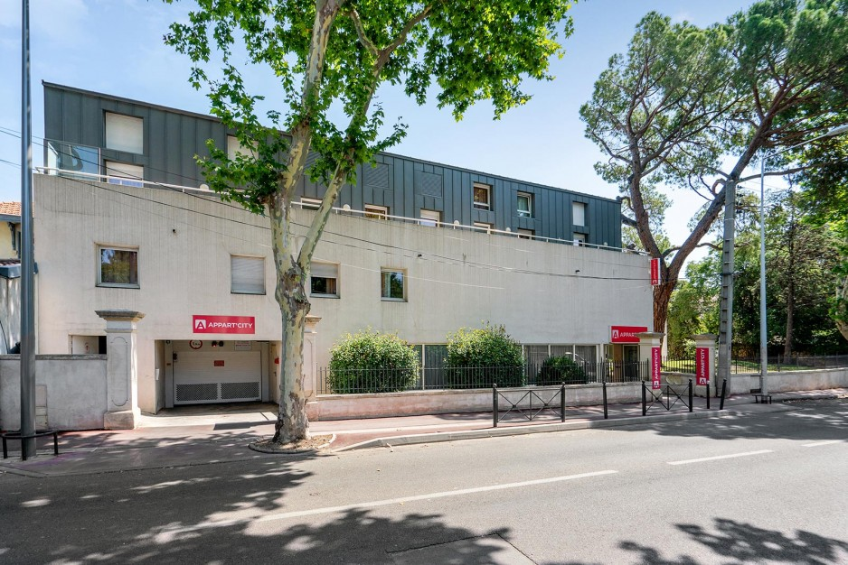 H tel journ e montpellier appart 39 city montpellier gare for Hotel ou appart hotel