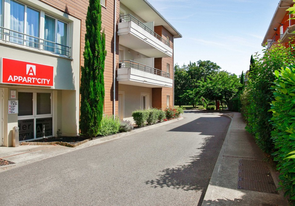 appartement hotel exterieur toulouse colomiers - Toulouse