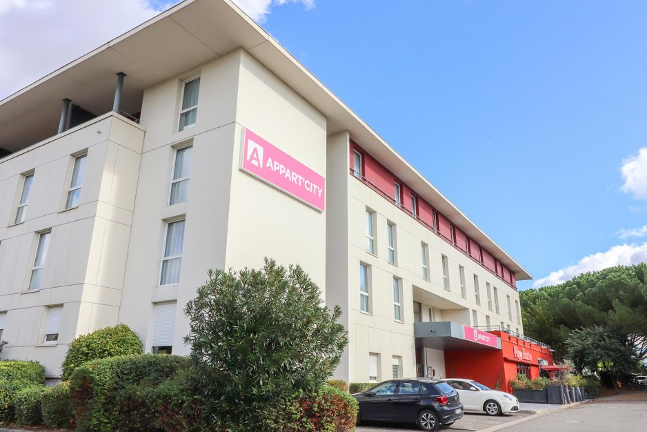 H tel journ e toulouse appart 39 city toulouse labege for Hotel ou appart hotel