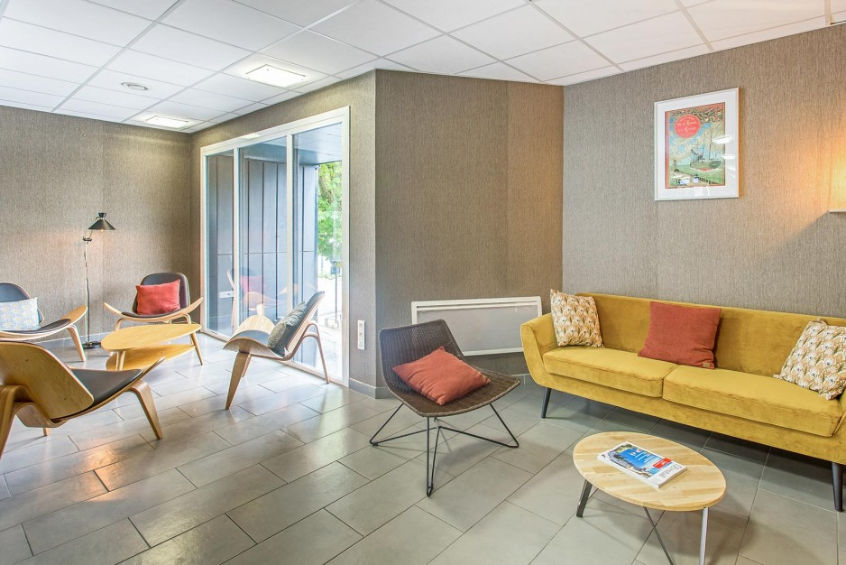 H tel journ e amiens appart 39 city amiens gare r servez for Appart hotel 4 personnes