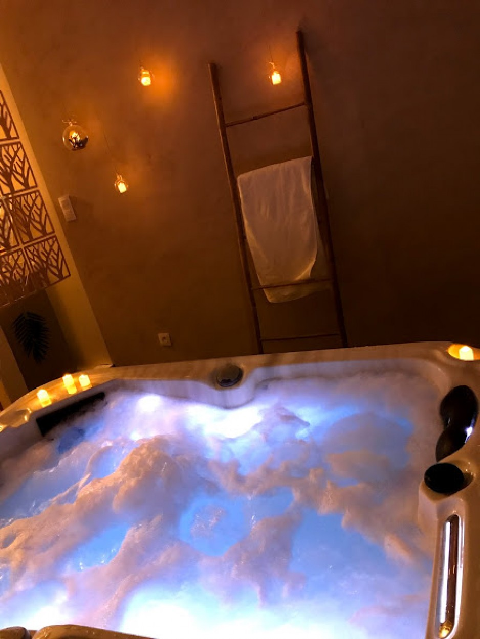 Jacuzzi privatif - Limoges