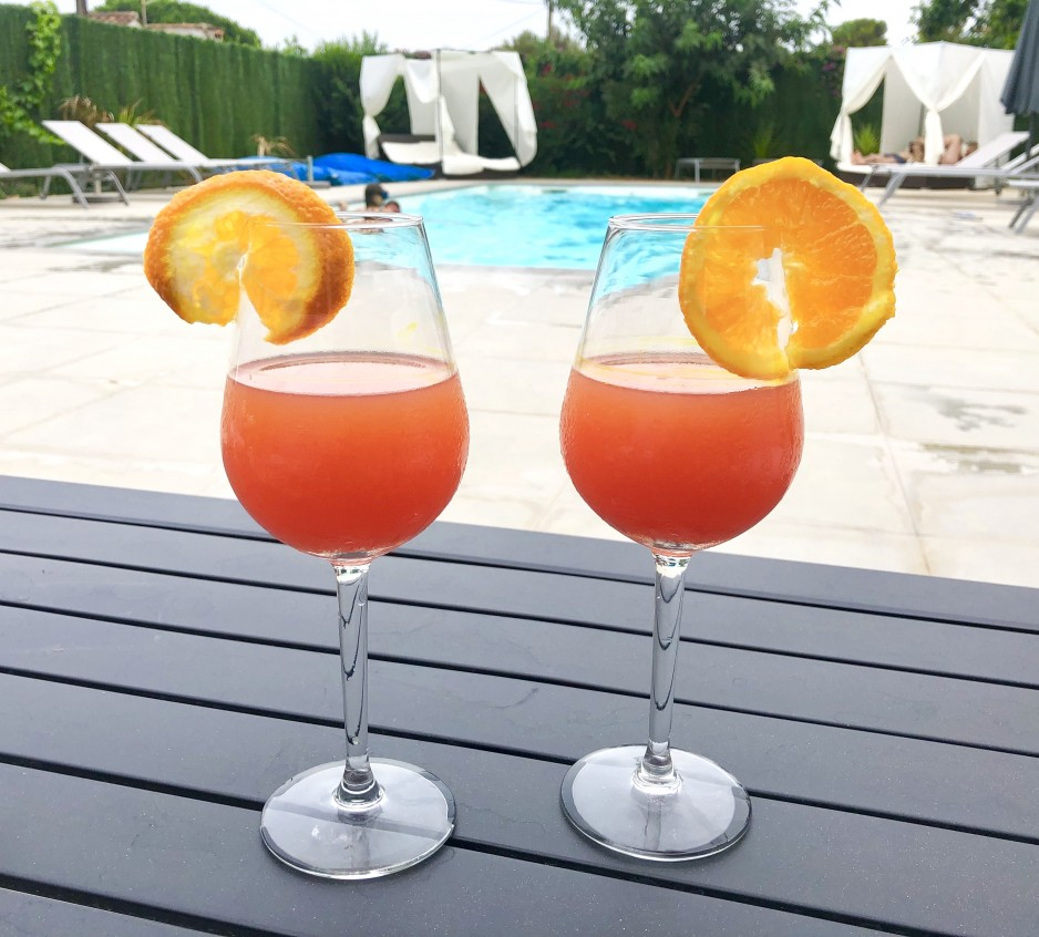 Piscine cocktail - Bormes-les-Mimosas