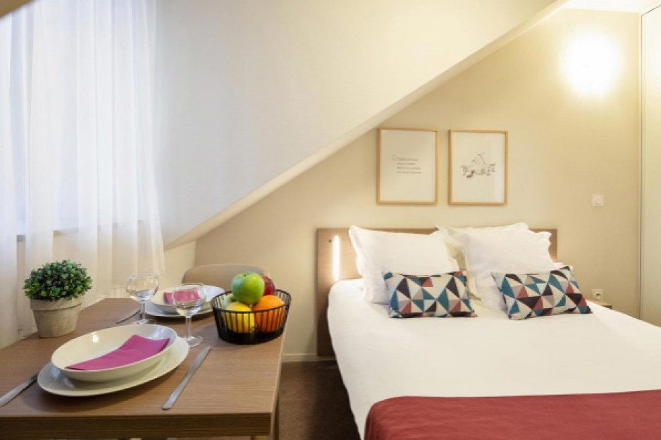Appart hotel reims roomforday for Appart hotel reims