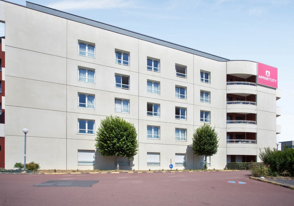 Hotel appart city caen roomforday for Appart city