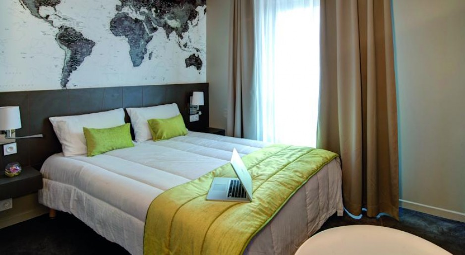H tel journ e appart 39 city le bourget r servez un day for Appart hotel en france