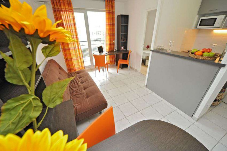 H tel journ e lyon appart 39 city lyon vaise saint cyr for Appart hotel 4 personnes