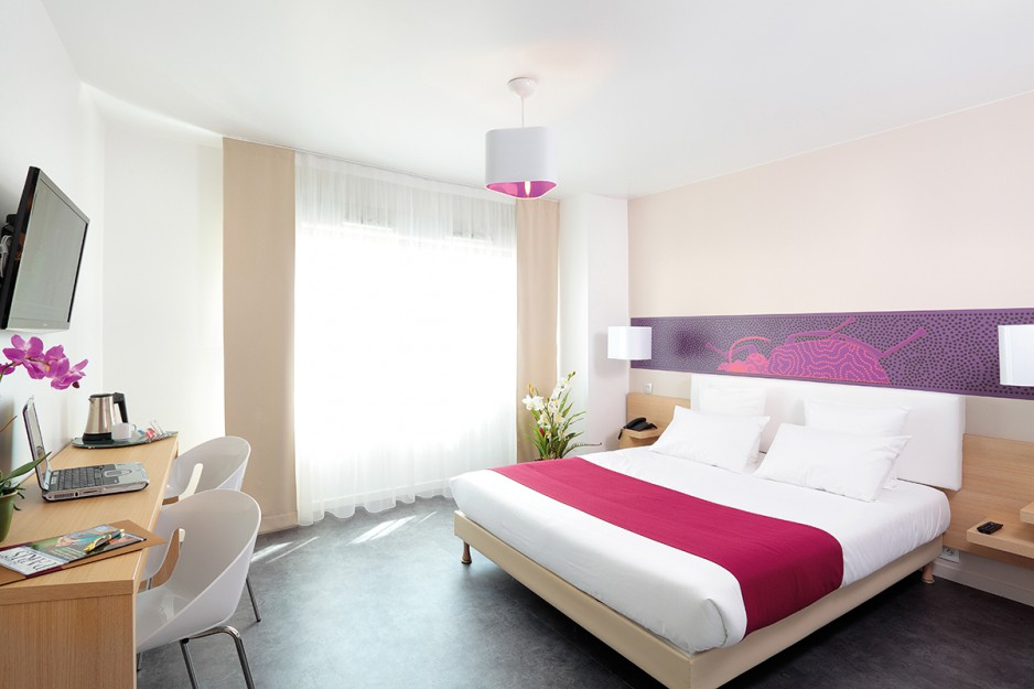 H tel journ e rosny sous bois appart 39 city paris rosny for Appart hotel 2 etoiles paris