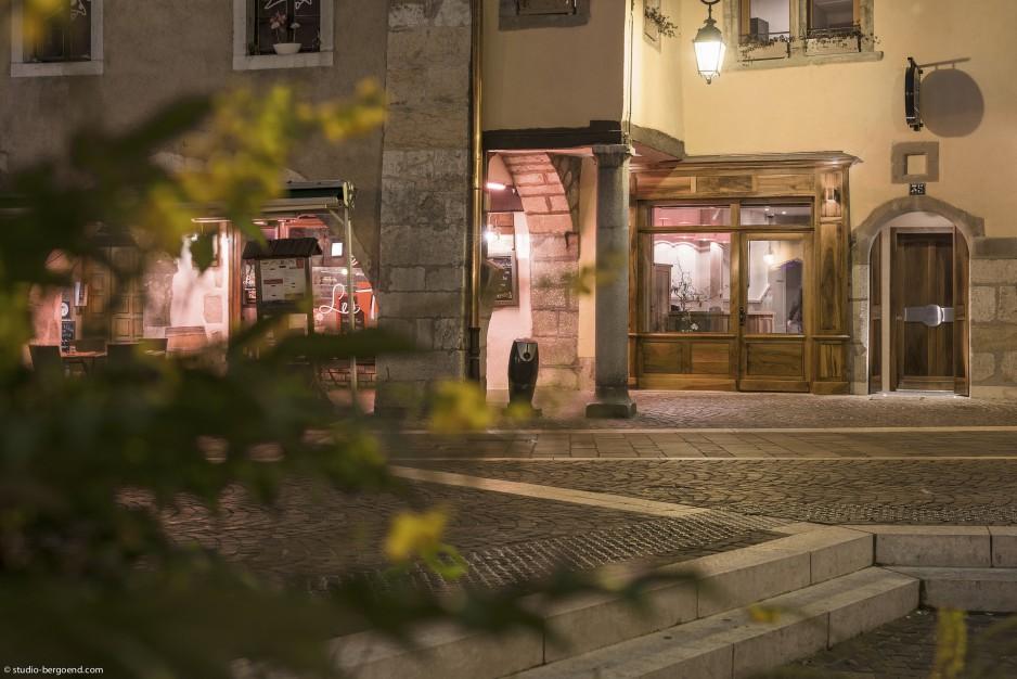 Nos chambres avec jacuzzi privatif à Annecy