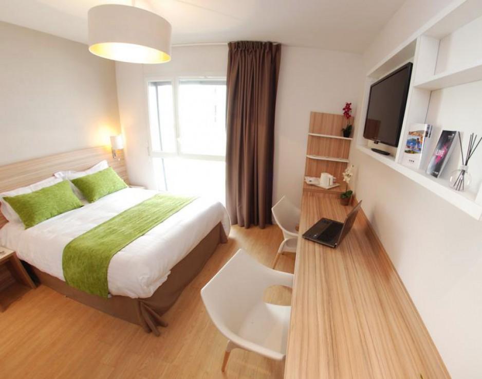 H tel journ e lyon quality suites lyon 7 lodge r servez un day use avec roomforday - Chambre romantique lyon ...