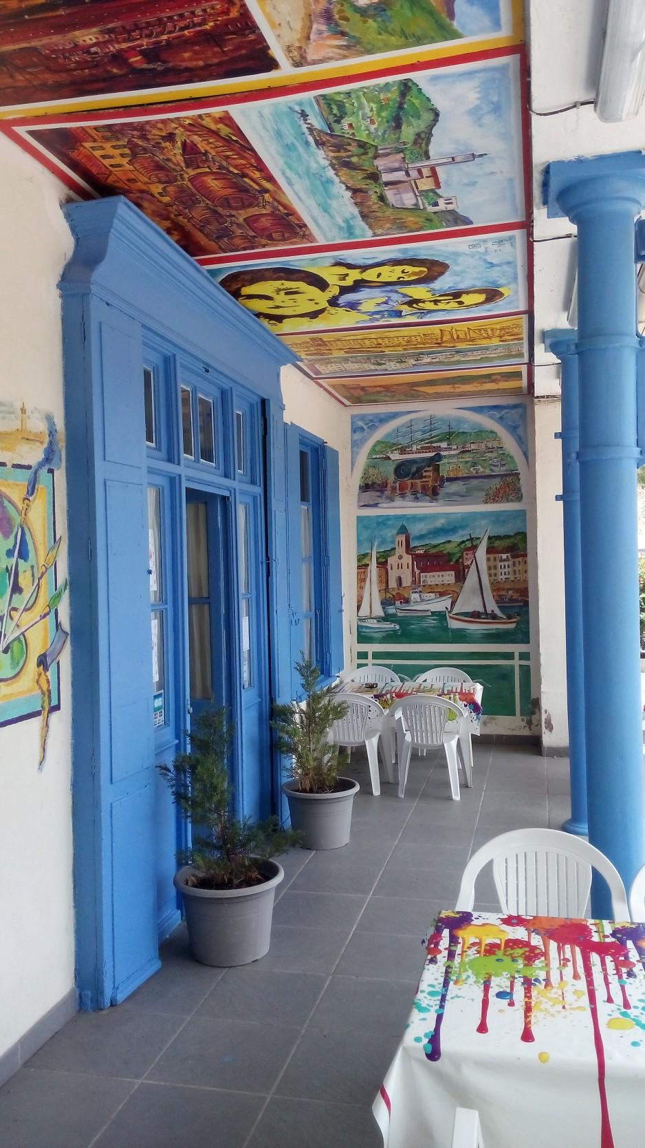 H tels la journ e avec restaurant argel s sur mer for Hotel avec restaurant