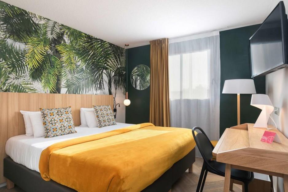 H tels la journ e avec restaurant toulouse roomforday for Hotel avec restaurant