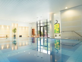 Swimming Pool indoor / outdoor Roissy CDG